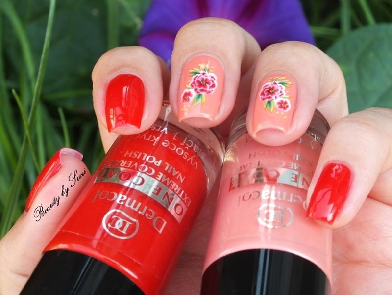 Roses nail art by Suzi - Beauty by Suzi