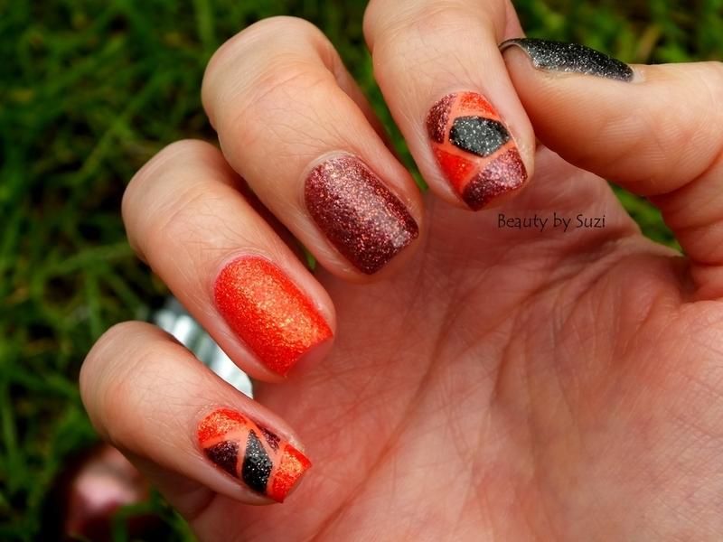 The Color Blocking With Crush On You #2 nail art by Suzi - Beauty by Suzi