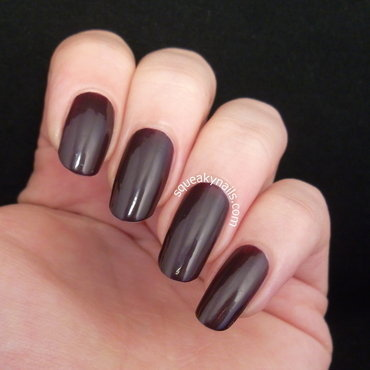Canvas Lacquer Blood Sisters Swatch by Squeaky  Nails