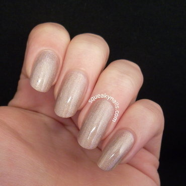 Canvas Lacquer Flaunt It! Swatch by Squeaky  Nails
