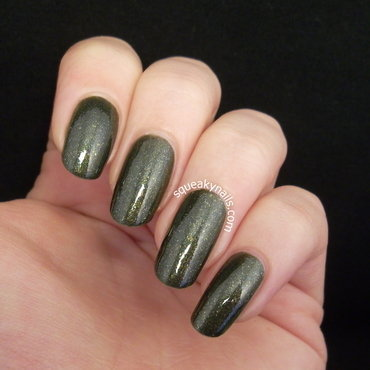Canvas Lacquer G.I. Jane Swatch by Squeaky  Nails