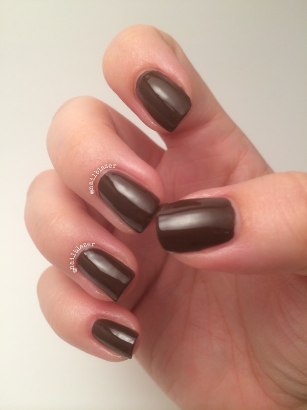 Barry M Gelly Cocoa Swatch by Nailblazer