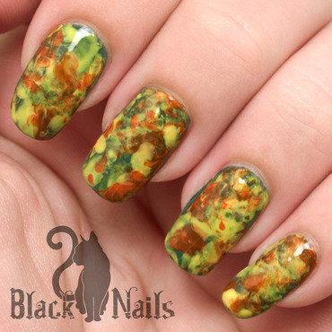 Plastic marble fall nail art ig thumb370f