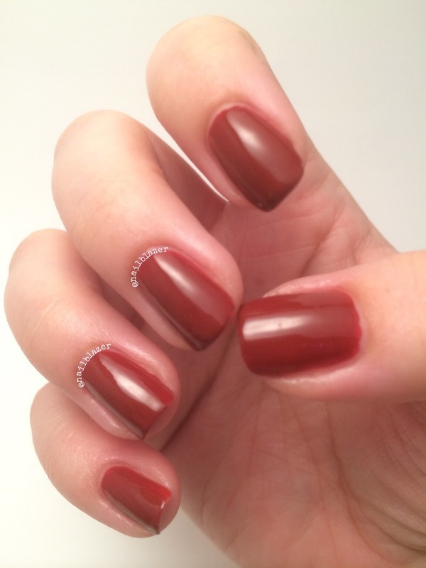 Barry M Gelly Chilli Swatch by Nailblazer