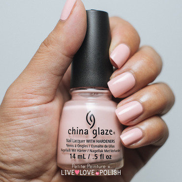 China Glaze Pink of me Swatch by Petite Peinture