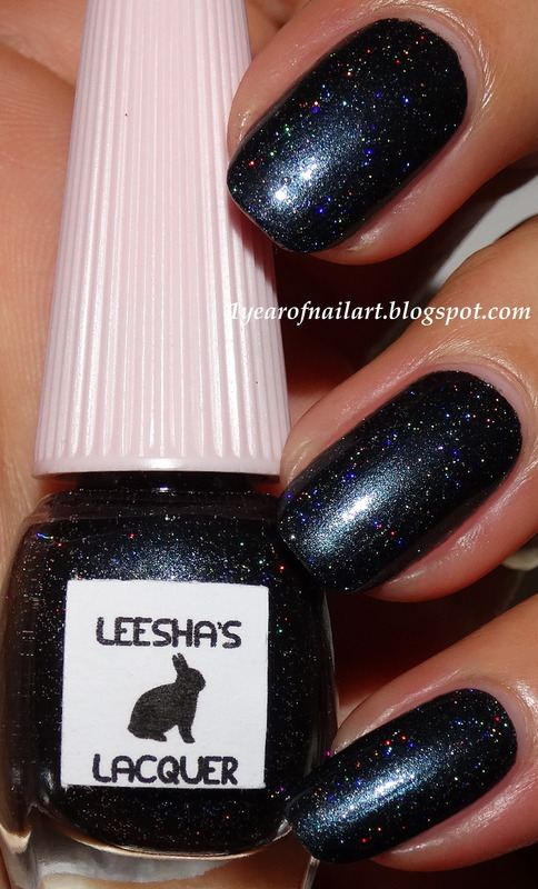 Leesha's Lacquer Thank, Mr.Skeltal Swatch by Margriet Sijperda