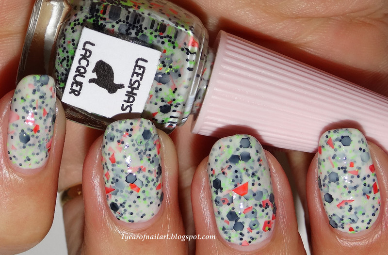 Leesha's Lacquer What is this, skull-duggery?! Swatch by Margriet Sijperda