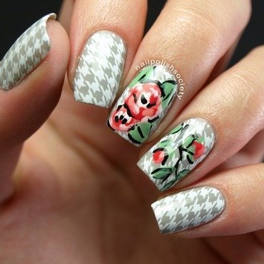 Honor Nails You Love nail art by Emiline Harris