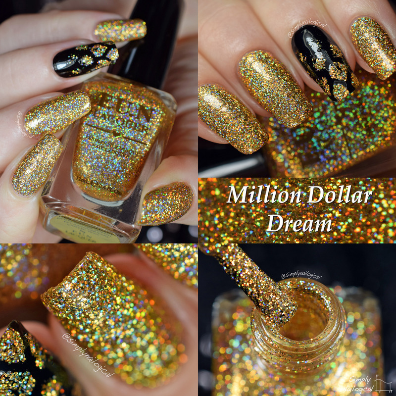 Fun Lacquer Million Dollar Dream Swatch by simplynailogical
