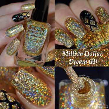 Fun Lacquer Million Dollar Dream (H) Swatch by simplynailogical