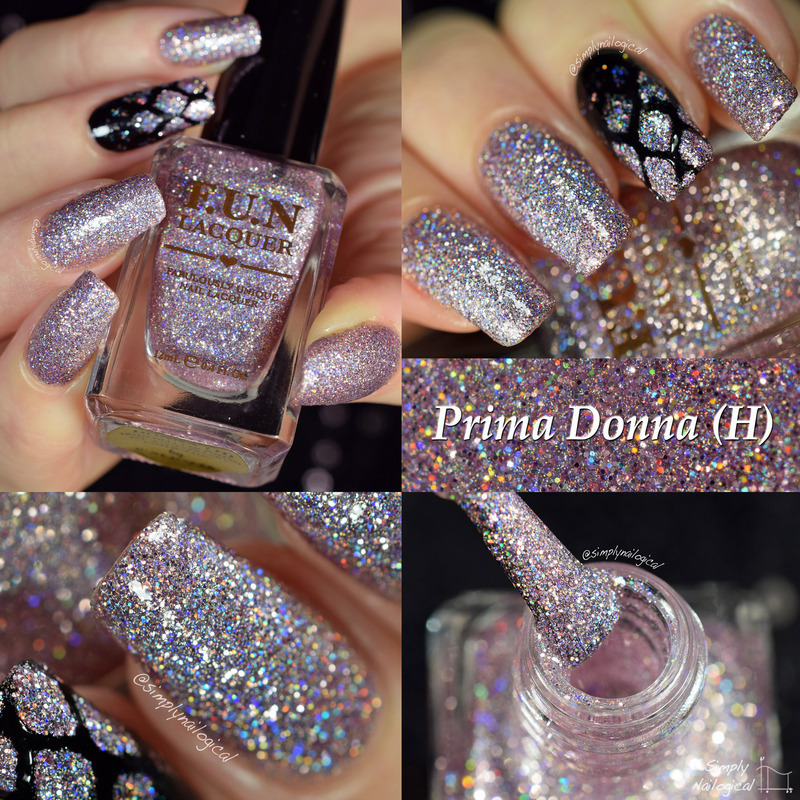 Fun Lacquer Prima Donna (H) Swatch by simplynailogical