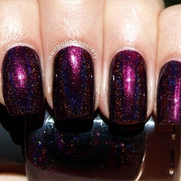 I Love Nail Polish Black Orchid Swatch by Emiline Harris