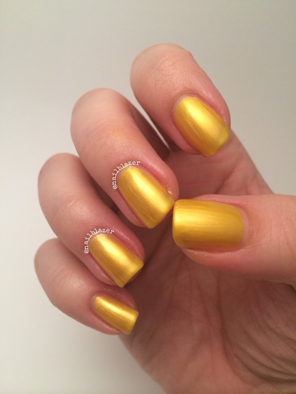 Models Own Sun Kissed Swatch by Nailblazer