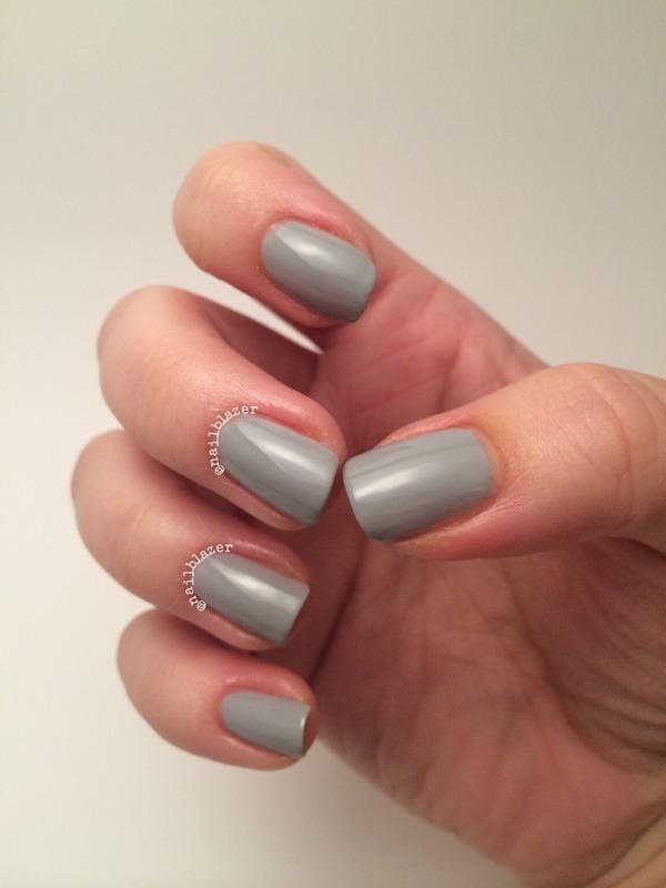 Models Own Misty Grey Swatch by Nailblazer