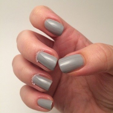 Models Own Misty Grey Swatch by Nailblazer