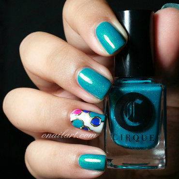Kontiki Nails nail art by OnailArt