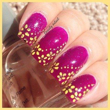 Floral nail art nail art by Beauty Intact
