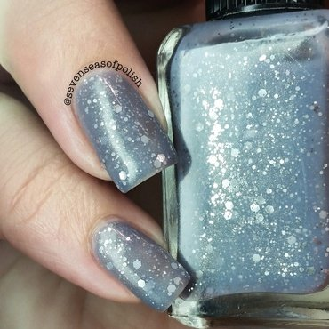 Cadillacquer 9 Crimes Swatch by sevenseasofpolish