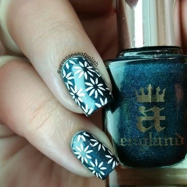 St Gorgeous nail art by sevenseasofpolish