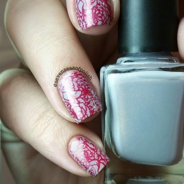 Precious Rose nail art by sevenseasofpolish
