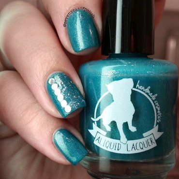Puppy Love nail art by sevenseasofpolish