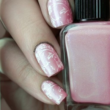 Pink for a day nail art by sevenseasofpolish