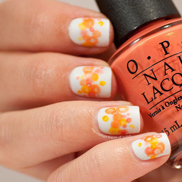1 orange nimbus nail art thumb370f