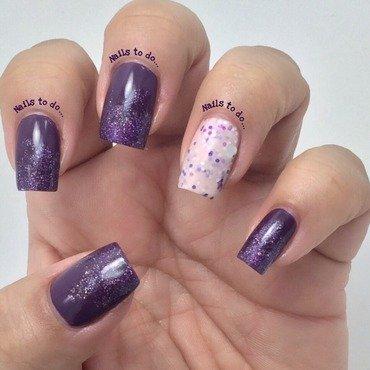 Troublemaker nail art by Jenny Hernandez