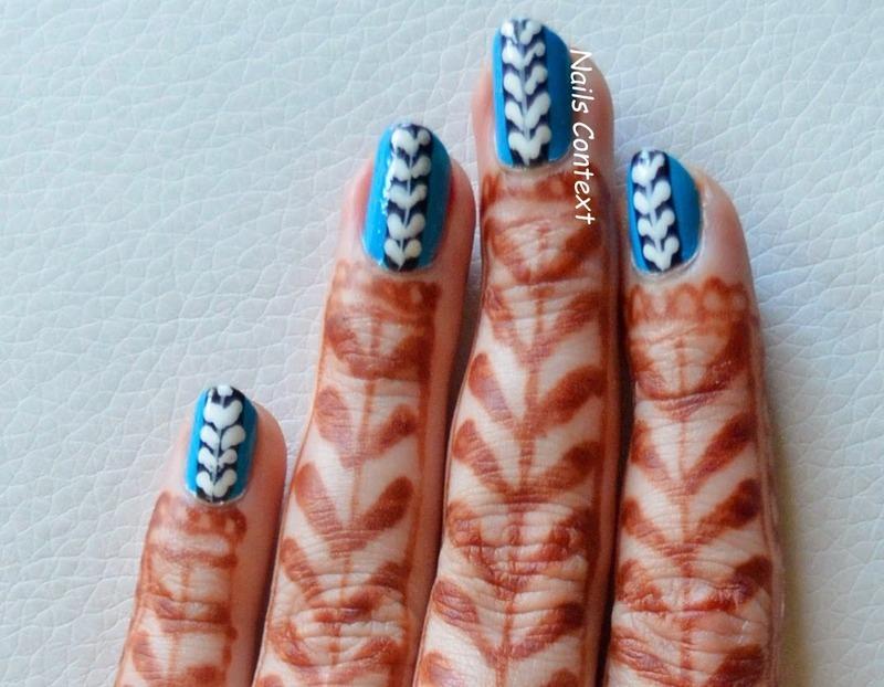 Intricate Nail Art nail art by NailsContext