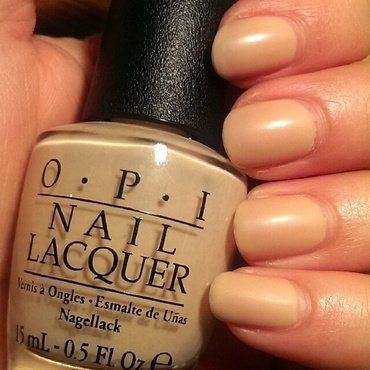 OPI Samoan Sand Swatch by Steph