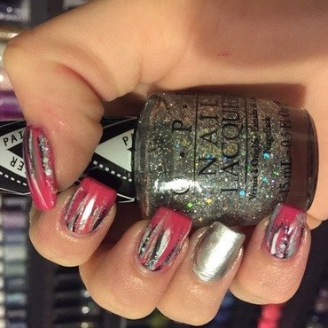 Gwen Stefani Collection Brushstrokes nail art by Dana  Nicole