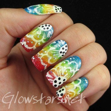 Digit al dozen floral outline on gradient 1 thumb370f