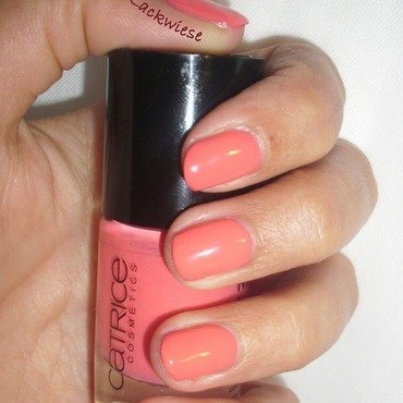 Catrice Meet Me At Coral Island Swatch by irma
