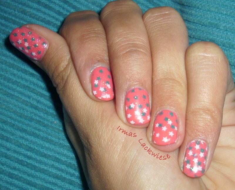Little stars  nail art by irma