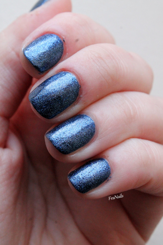 Essence effect nail polish 07 blue janed Swatch by Fran Nails