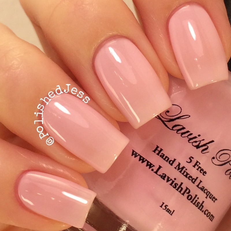 Lavish Polish Love Your Ta-Tas Swatch by PolishedJess