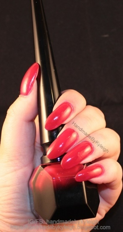 Christian Louboutin Rouge Louboutin Swatch by  Kyleigh  'Handmade By Kyleigh'