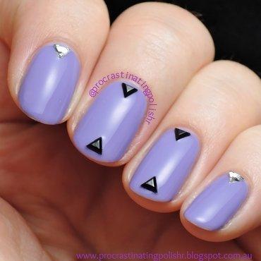 Studded nail art by Jae Harrison