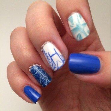 London Stamping nail art by Nailblazer