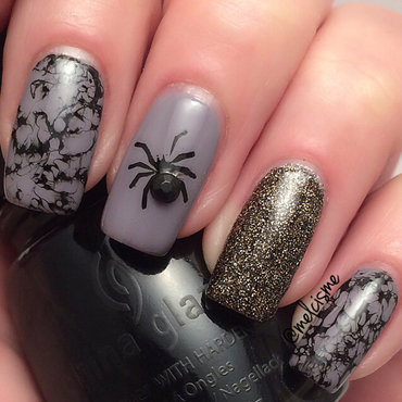 Halloween Nail Art nail art by Melissa