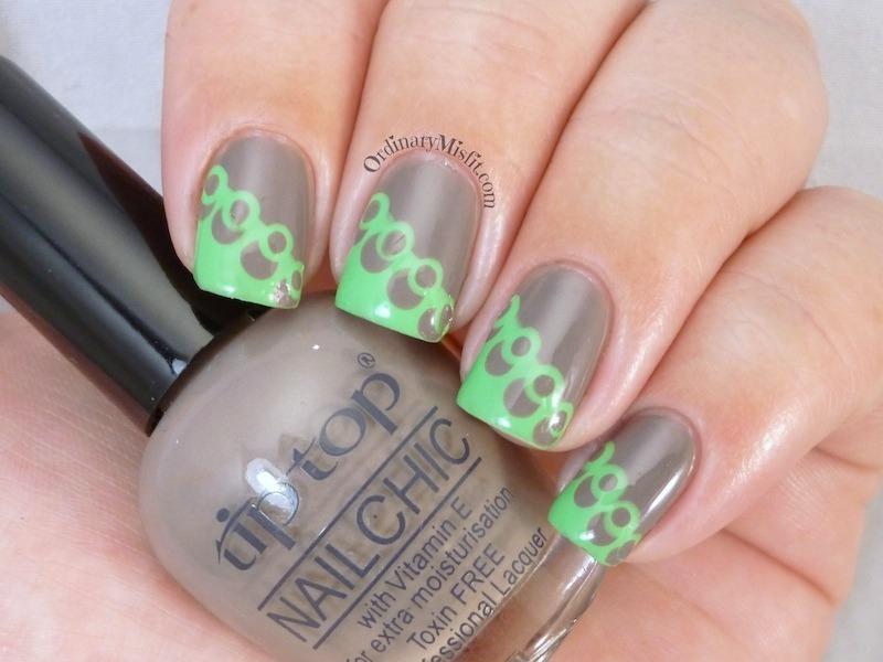 Polka dotty nail art by Michelle