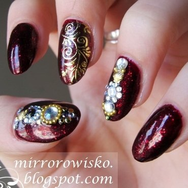 too much of everything nail art by Panna Dominika