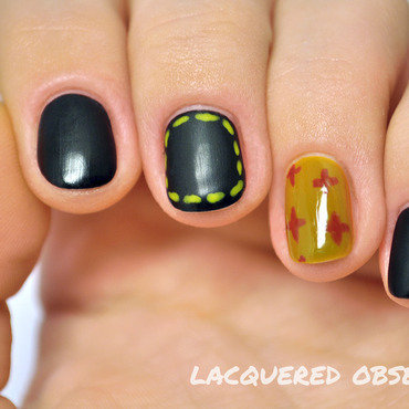 Dr Martens inspired nail art by Lacquered Obsession