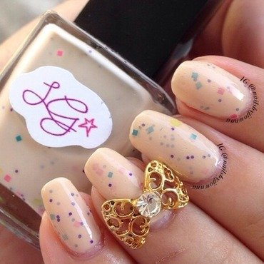 Liquid Glam Lacquer Reception Swatch by Jonna Dee