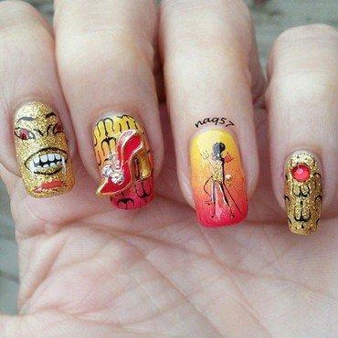 The Devil Wears Prada nail art by Nora (naq57)