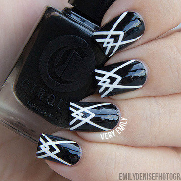 Art Deco Nails nail art by Very Emily