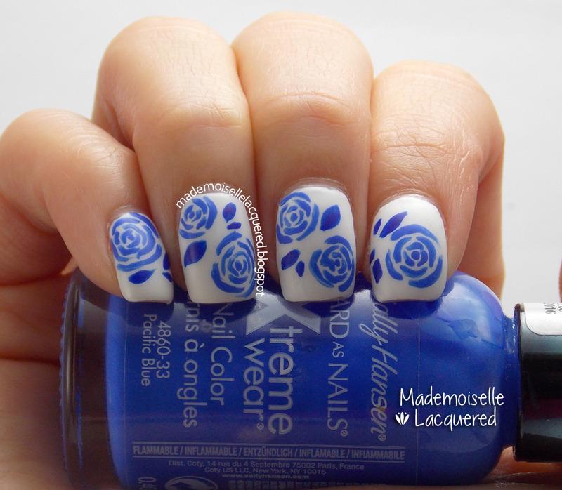China Porcelain Nails nail art by Emilia
