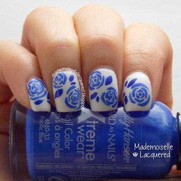 China Porcelain Nails nail art by Emilia