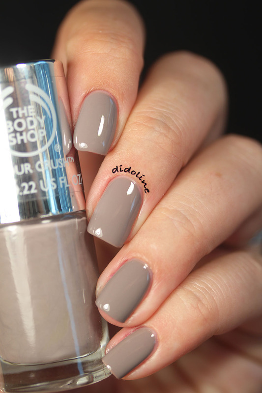 The Body Shop Gorgeous Grey Swatch by Dorra (didoline)