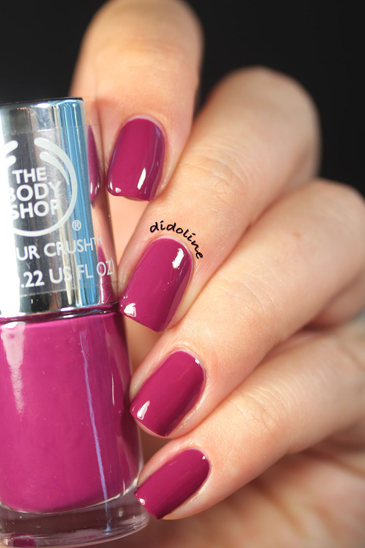 The Body Shop Deeply in Love Swatch by Dorra (didoline)
